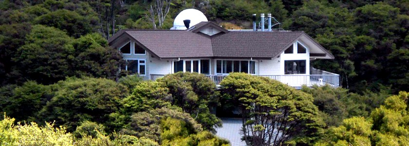 Stargazer's Bed & Breakfast, Observatory and Astronomy tours Whitianga NZ